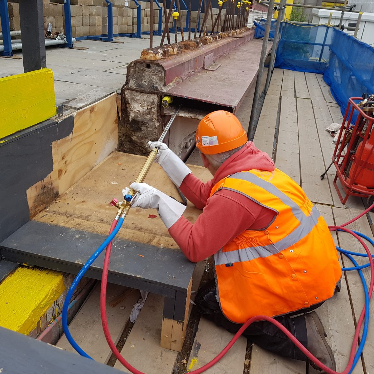 Blackfriars Bridge Parapet Renovation