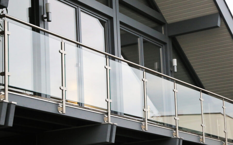 Handrails and Balustrades - Glass