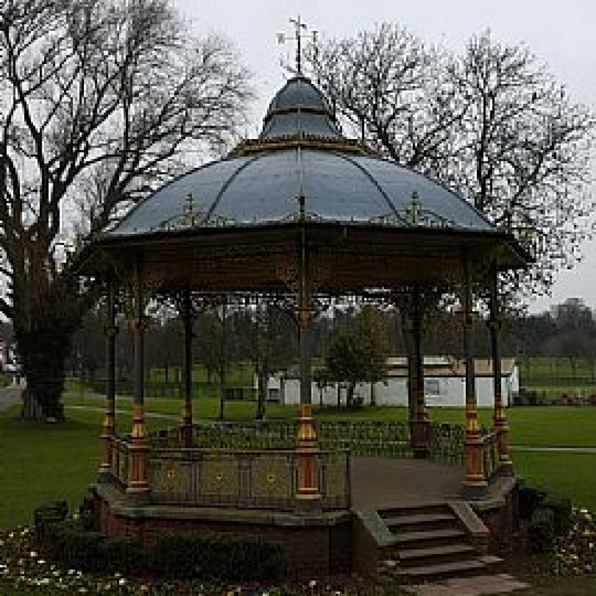 Bandstand Cast Iron Restoration