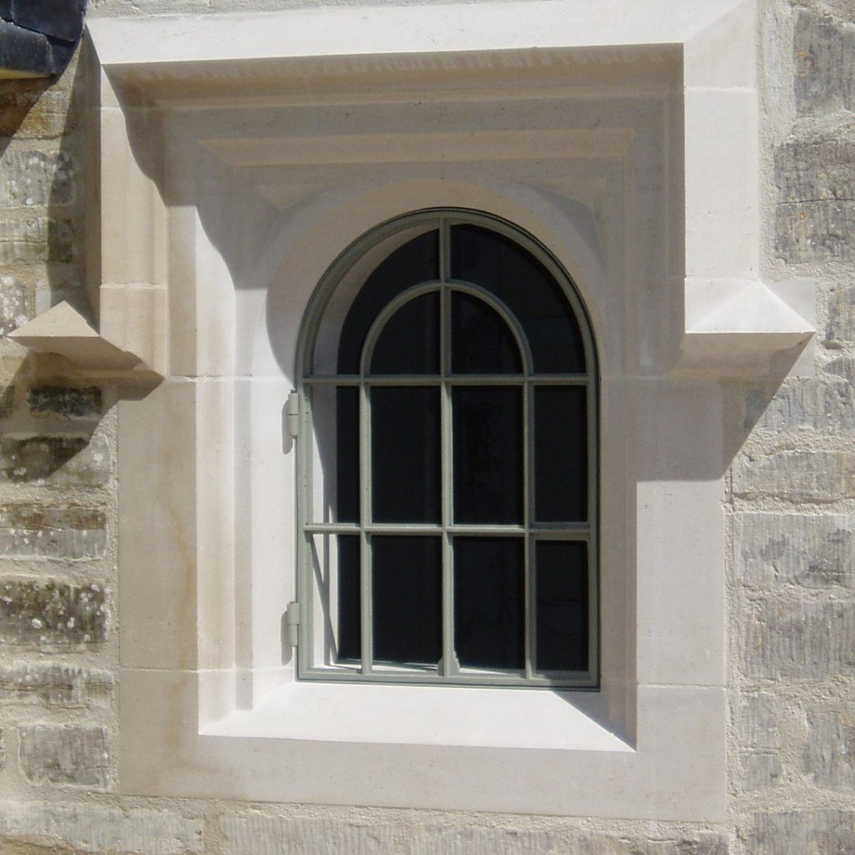 Cast Iron Windows for Extension