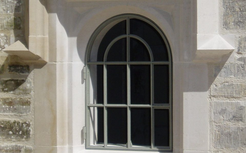 cast iron windows for an extension