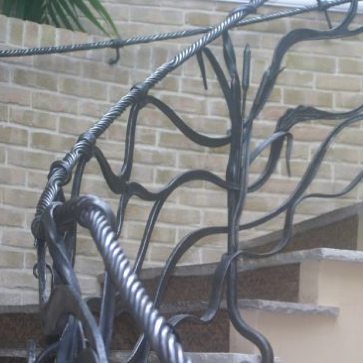 Contemporary Metalwork Balustrade for the exchange