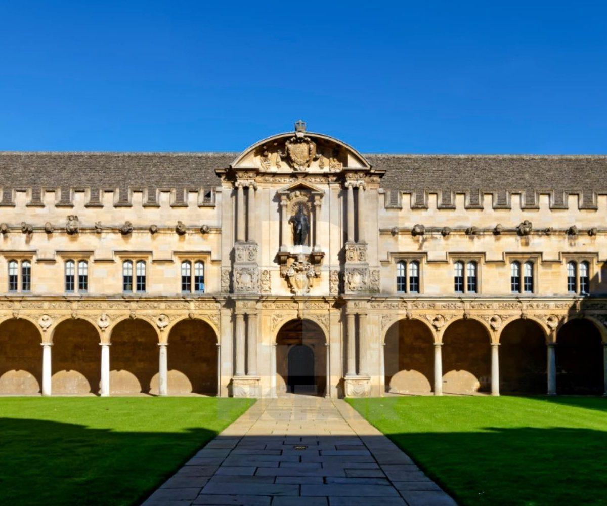 Bronze Handrails | St John's College, Oxford