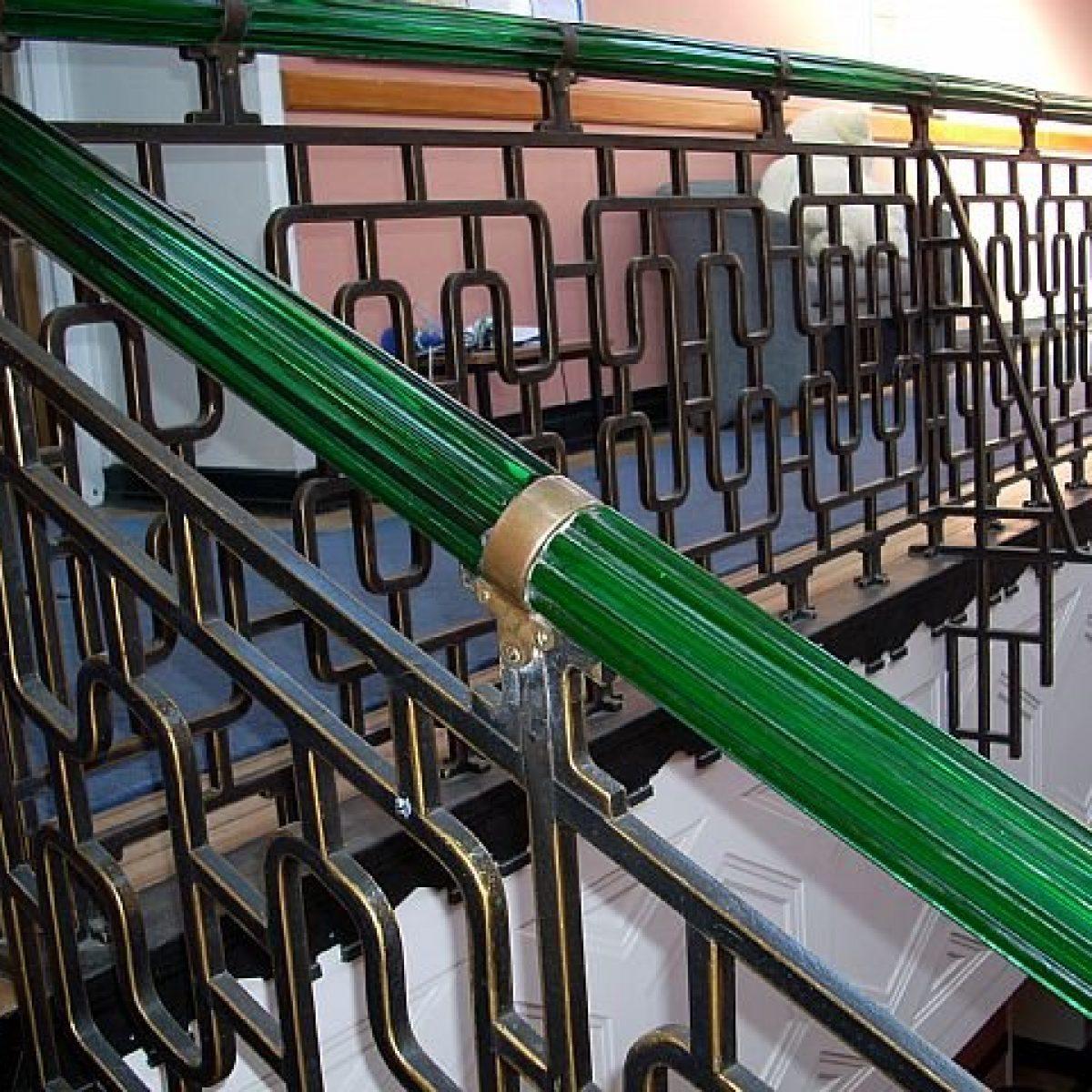 Glass & Bronze Handrail Restoration