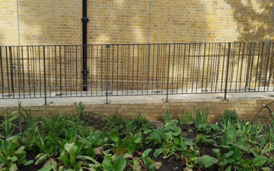 Modern Steel Handrail