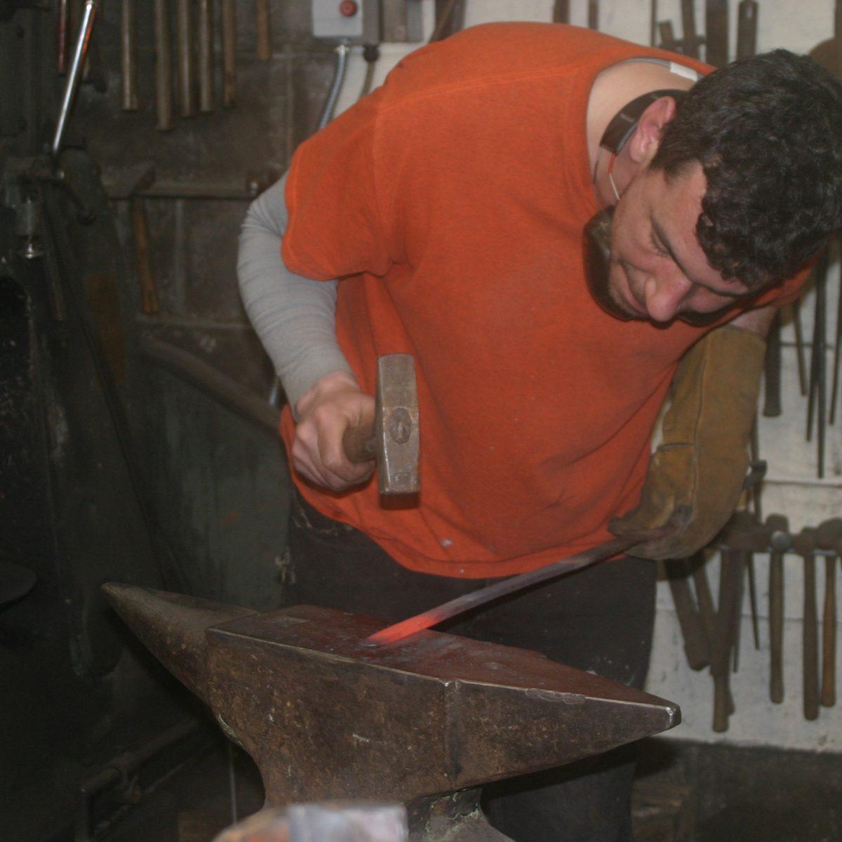 Exquisite blacksmithing