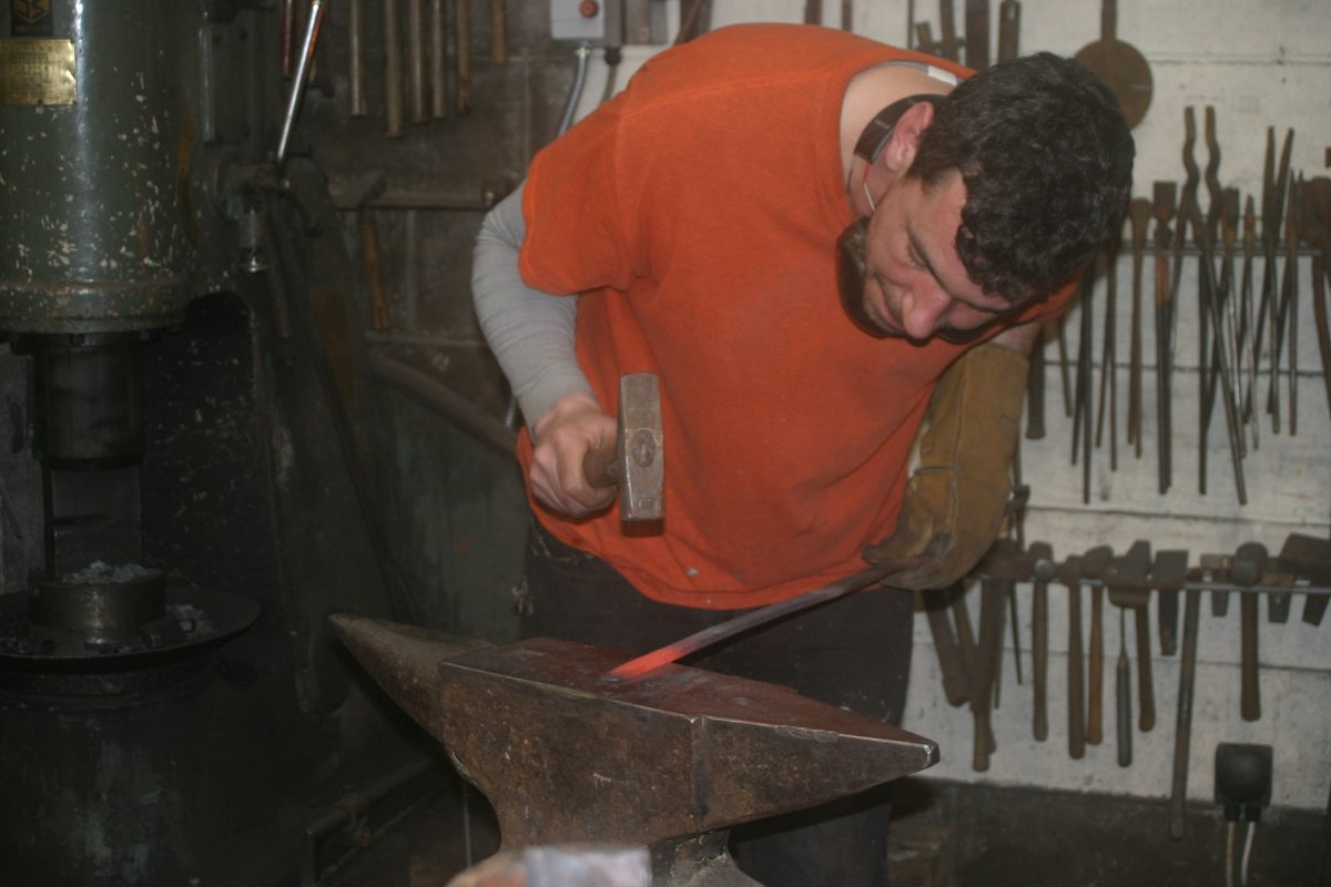 Exquisite blacksmithing