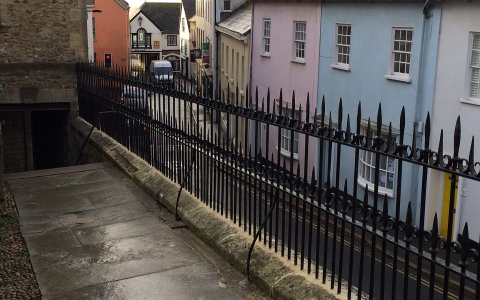 Restoration Wrought Iron Railings