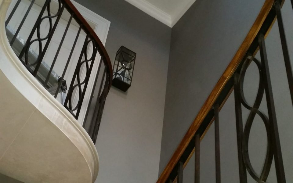 Steel and Cast Iron Balustrade