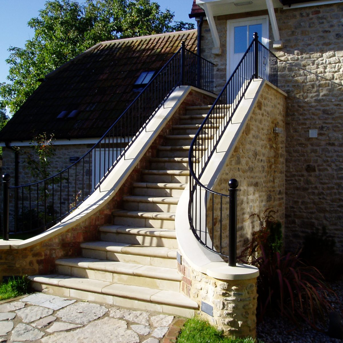 Exterior Double Balustrade