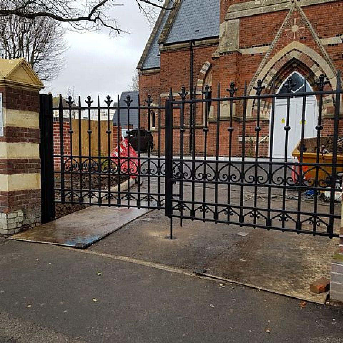 Wrought Iron Gate Restoration