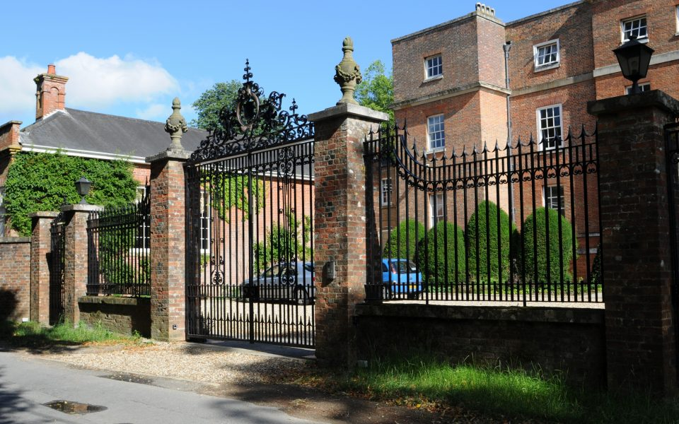 Wrought Iron Gate Restoration