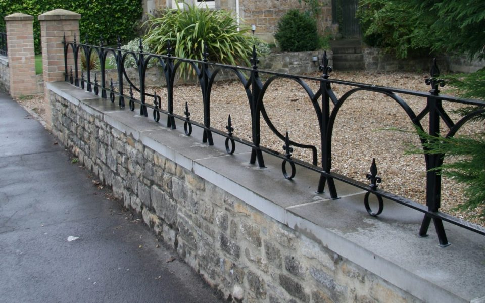 Traditional Ironwork Parapet Railings