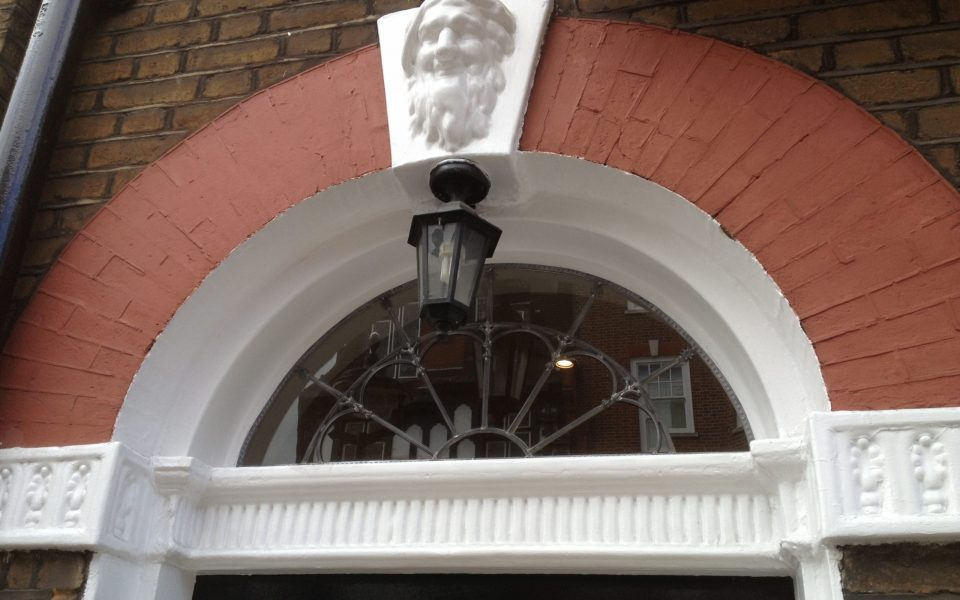 Traditional Lead Fanlight