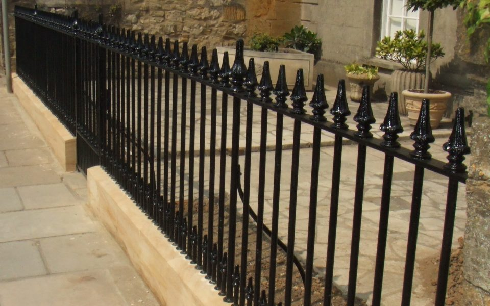 authentic finely crafted Iron Railings & Gates