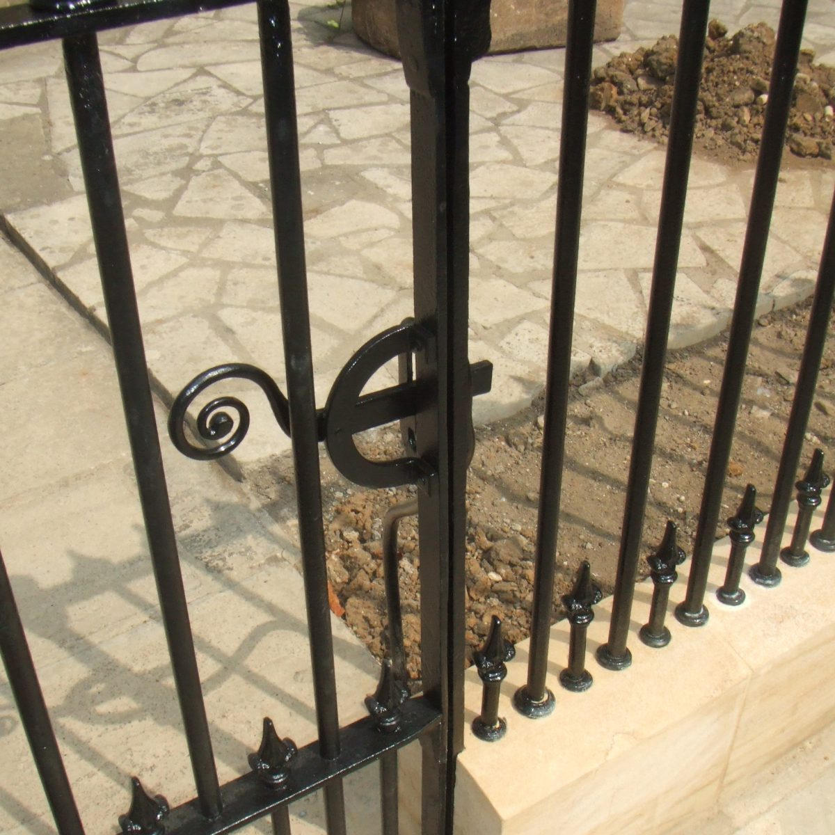 Traditional Ironwork Railings & Gate