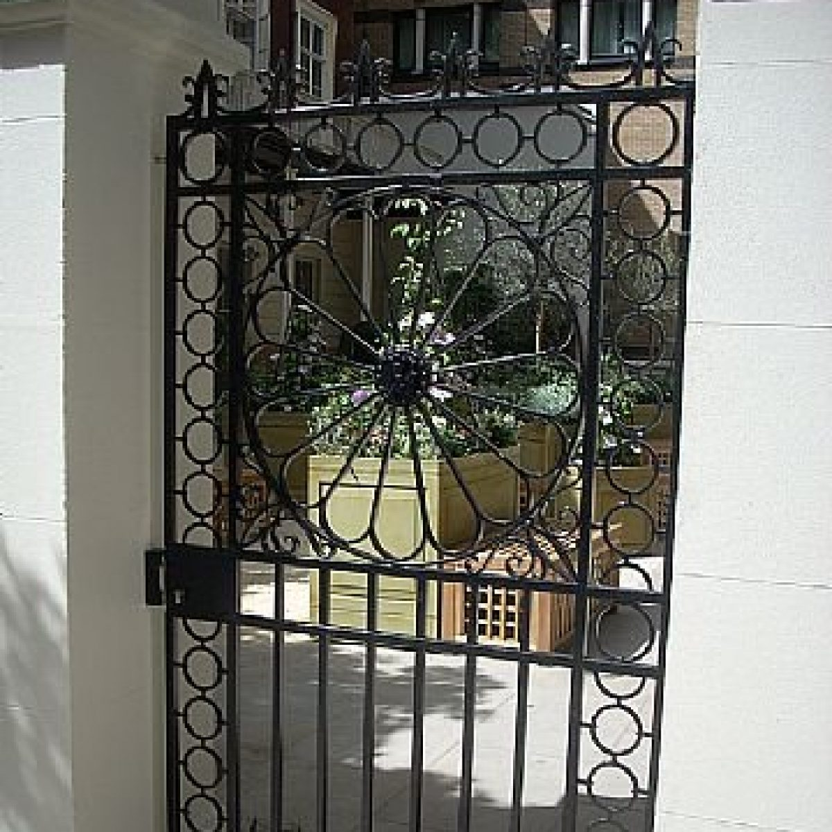 Traditional Ironwork Gate & Railings