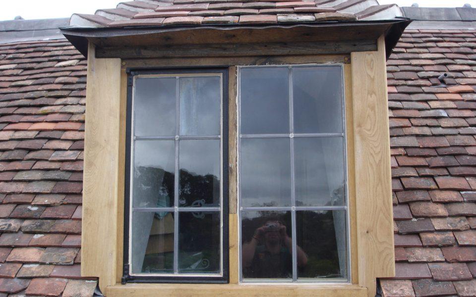 Wrought Iron Window Restoration