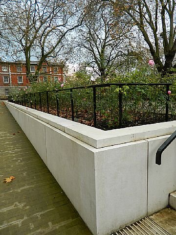 Contemporary Metal Handrail & Railings