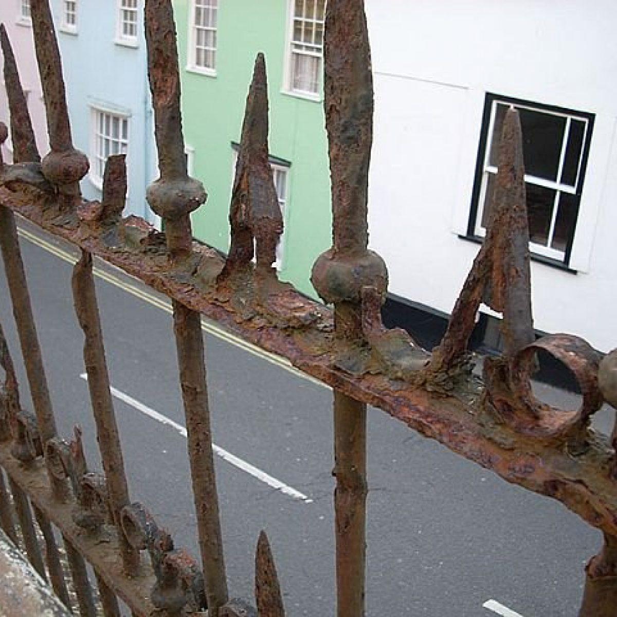 Restoration Wrought Iron Railings