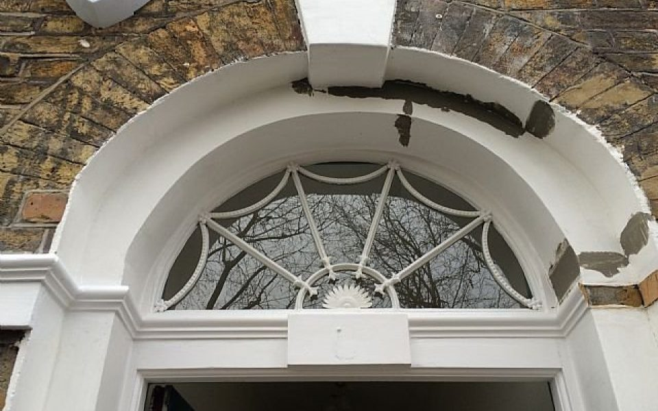 Traditional Lead and Copper Fanlight