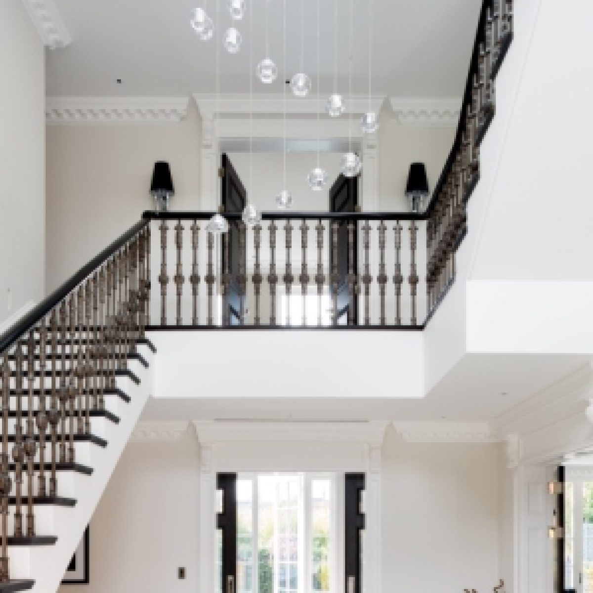 Cast Iron Baluster Staircase