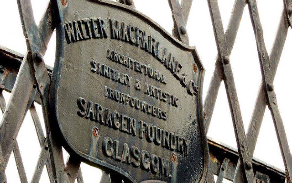 Historical Restorers of Walter MacFarlane & Co Metalwork