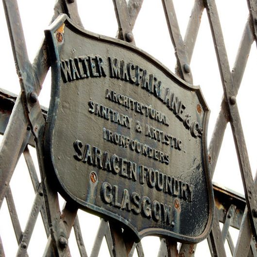 Authentic Historical Restorers of 18000's Walter MacFarlane & Co Metalwork