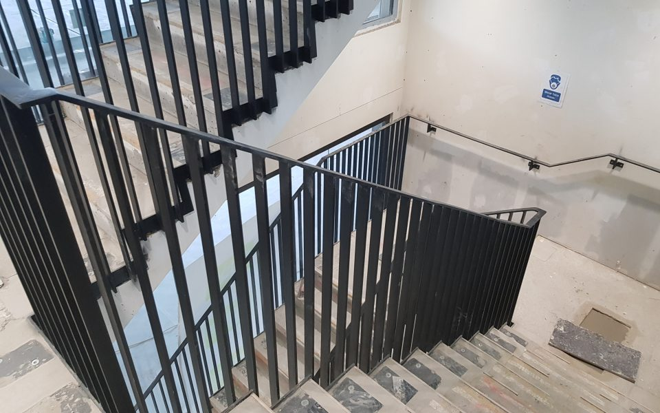 Fire staircases