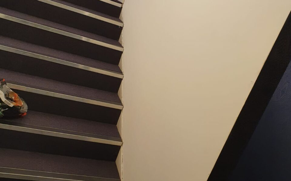Fire staircases for Project 7, The London Hippodrome Casino