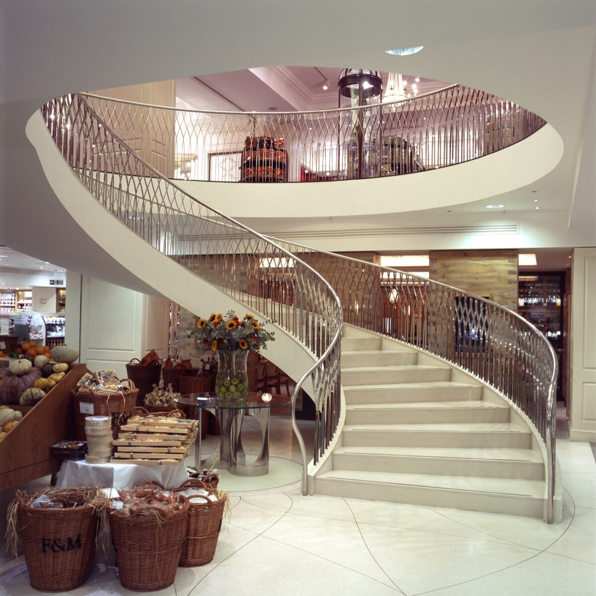 Fortnum and Mason Staircase London